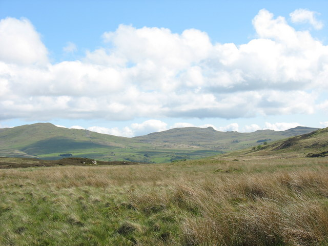 View south-east across bogland