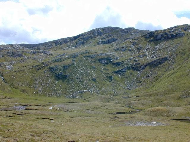The head of Coire an Lochain Sgeirich