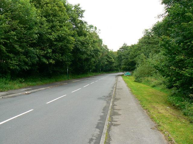 Road to Graig-y-Rhacca
