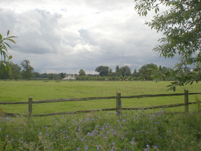 View south towards Home Farm, Houghton Hall