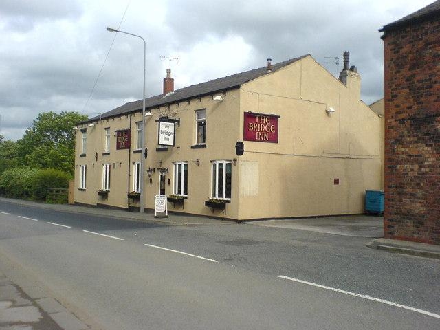 The Bridge Inn on Wigan Road, Westhoughton