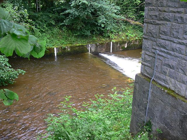 Weir On Afon Sawdde