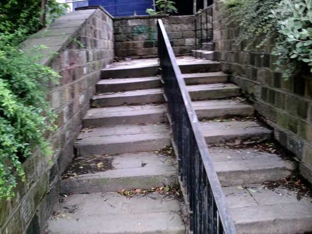 Old Steps Linking Shambles St. to Sackville St.
