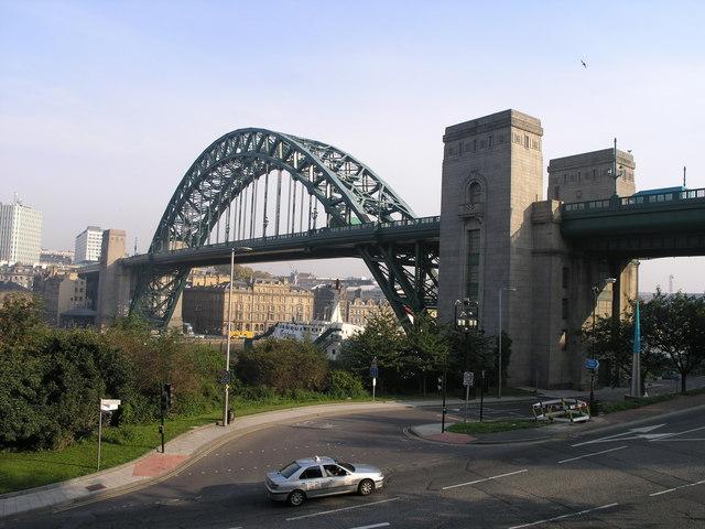 Tyne Bridge.