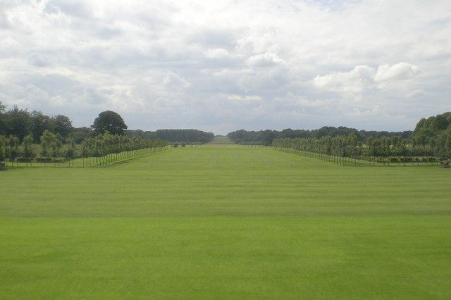 The view west from Houghton Hall