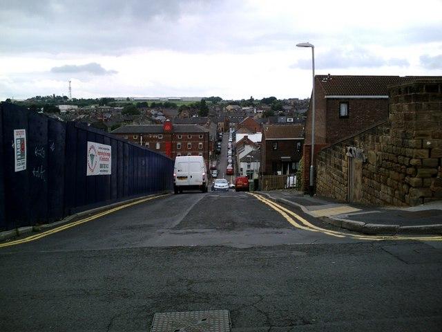 Fitzwilliam St. towards Summer Lane