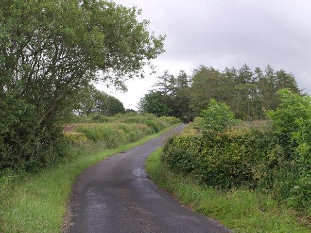 Lane near Shawhead
