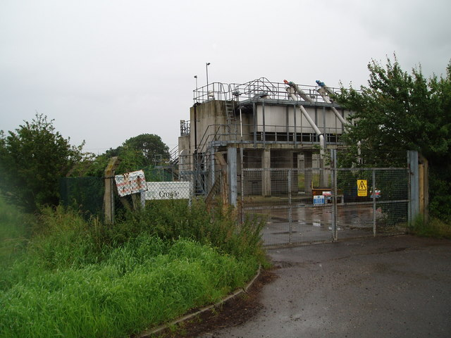 Severn Trent Water treatment  works Crowle