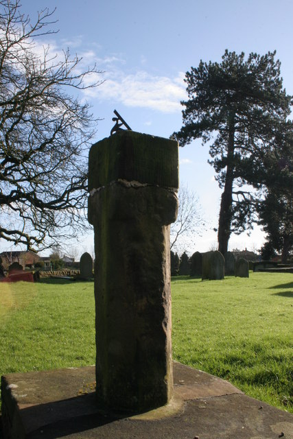Sundial in St Mary's Church Yard, Dodleston