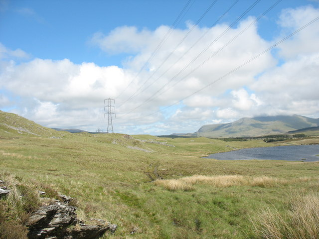 View back towards Llyn Conglog