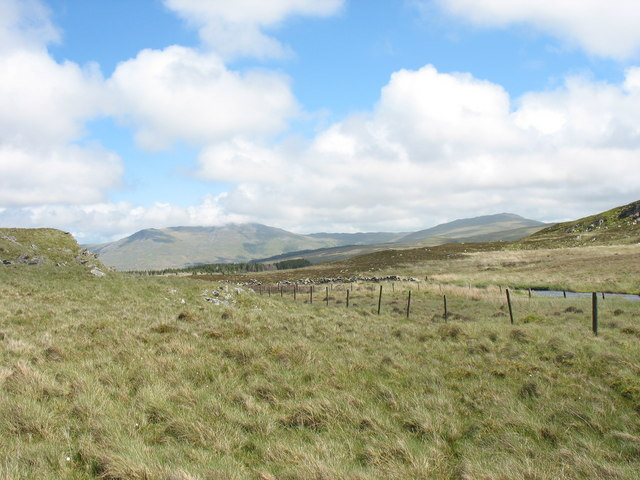 The upper reaches of Afon Prysor