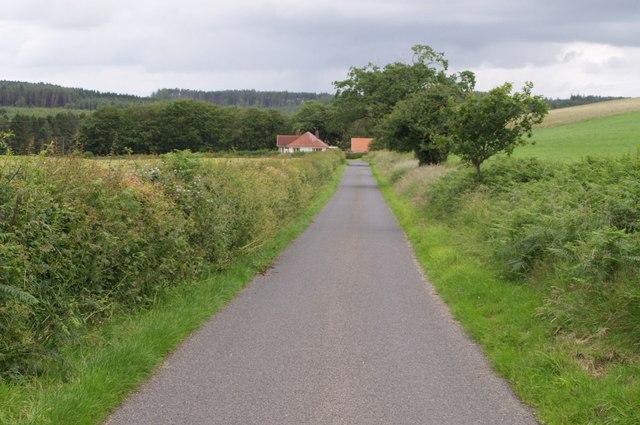 Lane approaching Beck Bridge