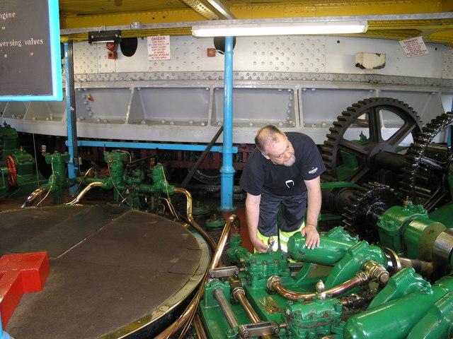 Swing Bridge Machine Room