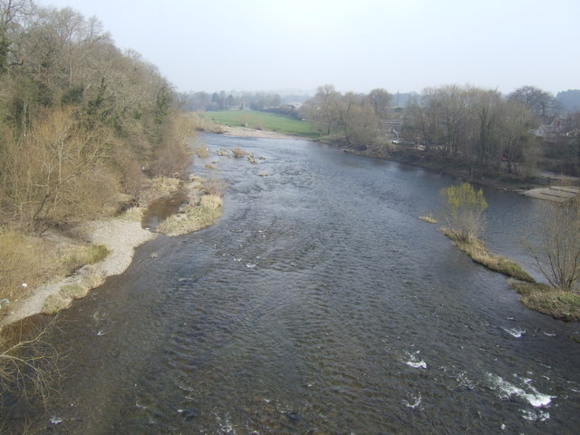 River Wye - view downstream