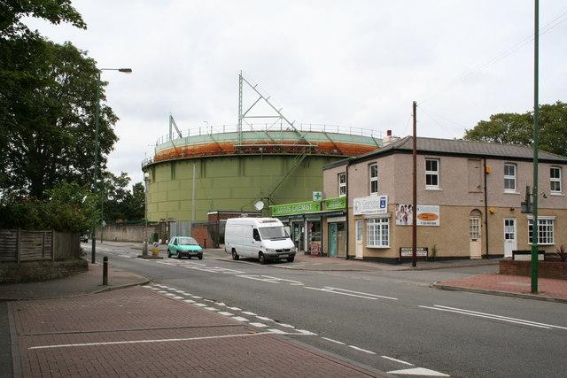 Gasholder, Wrythe Lane, Carshalton, Surrey