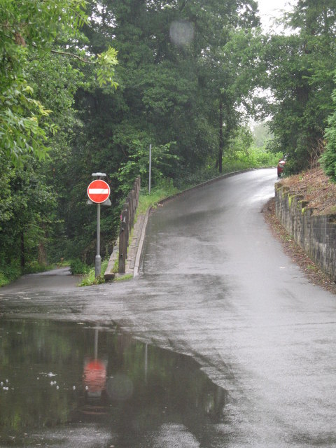 Road junction leading to Rhiw