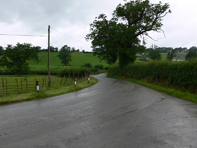 Road Junction Near Myddfai