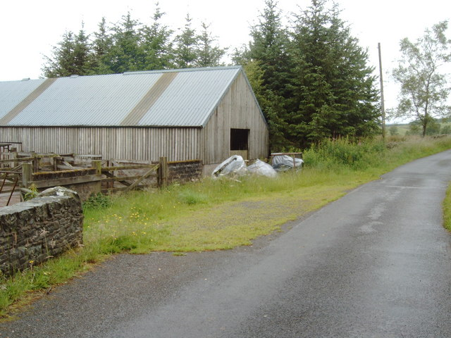 Farm building on the road to Auchenhay