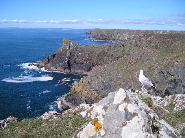 Mounts Bay from Kynance Cliffs