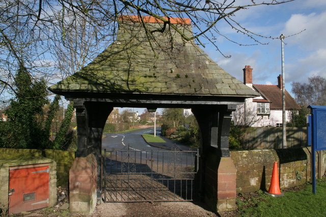 Lych Gate, St Mary's Church, Dodleston