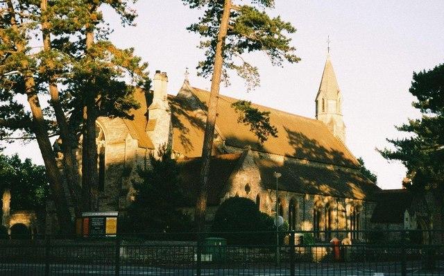 Bournemouth: parish church of St. Augustin