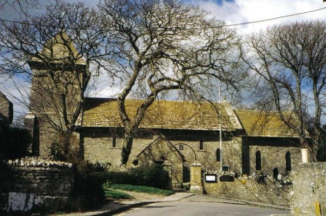 Worth Matravers: parish church of St. Nicholas