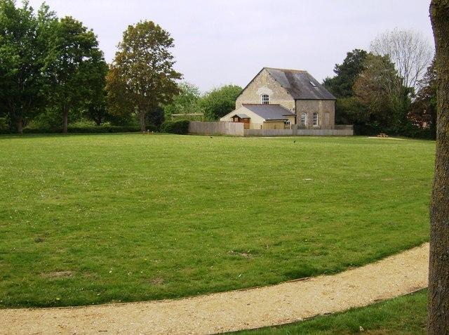 North Cadbury school playing field