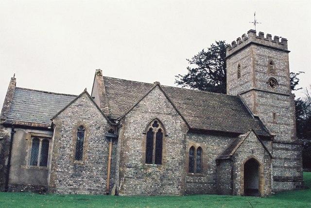Up Cerne: parish church