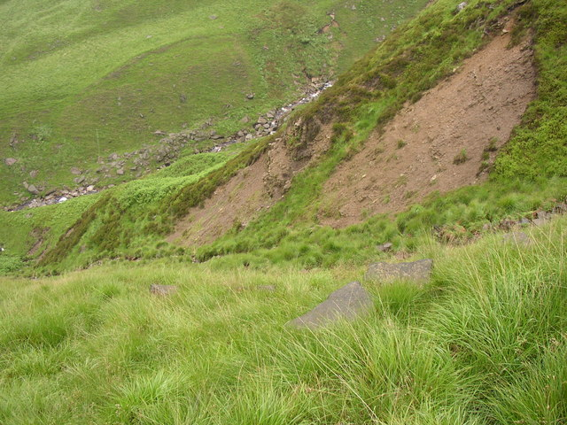 Scars in Dry Clough, Saddleworth