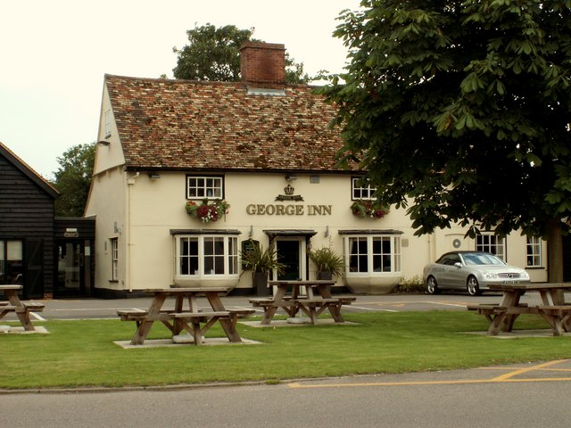 The 'George Inn' at Babraham