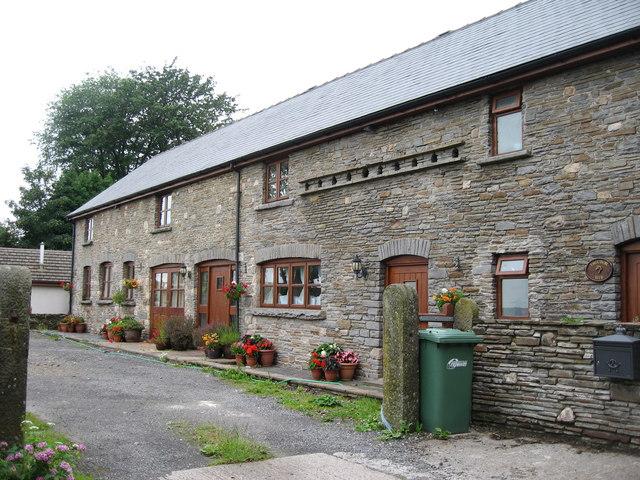 Tynewydd converted barns.