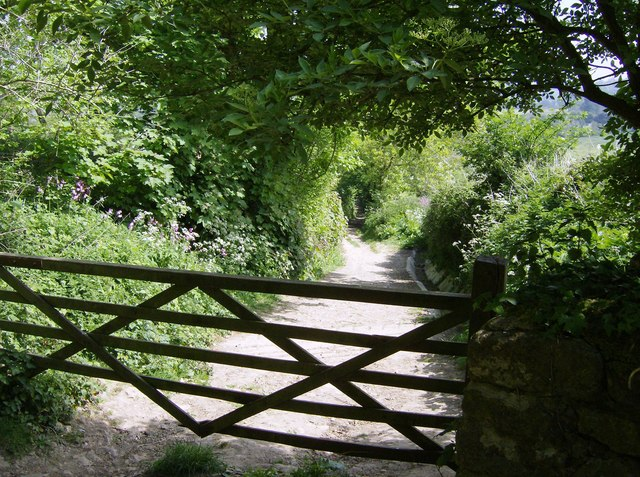 Descent from Cadbury Castle