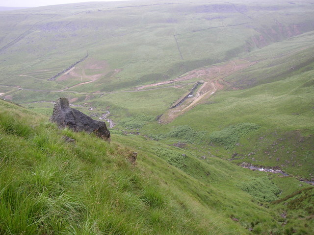 Dry Clough and South Clough, Saddleworth