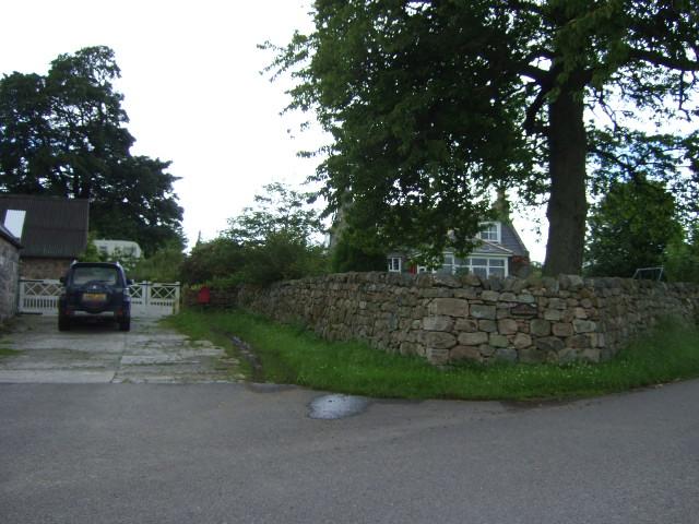 Tillyronach farmhouse