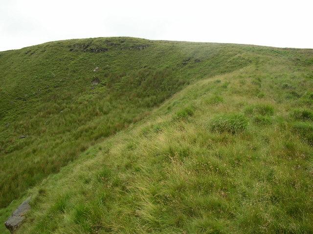Grassy corrie near, South Clough, Saddleworth