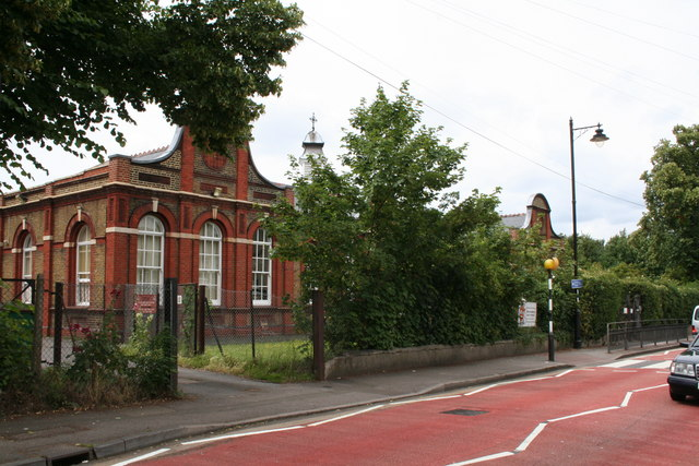 St Mary's Roman Catholic Junior and Infants School, West Street, Carshalton