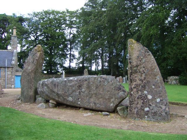 The recumbent stone