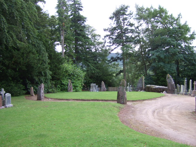 Midmar stone circle