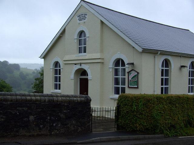 Chapel near Trinant