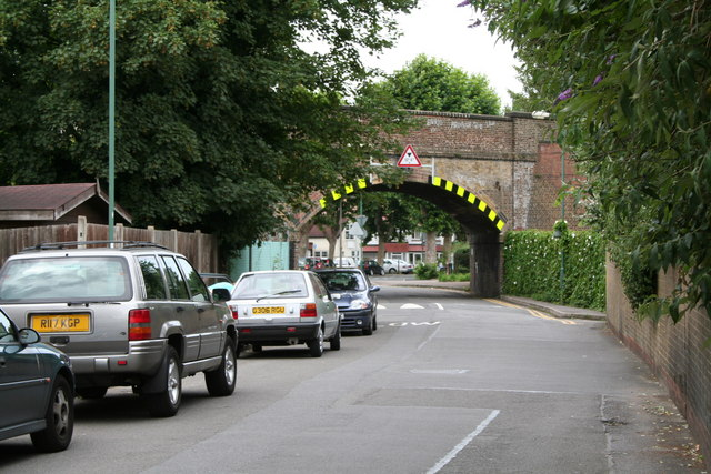 Railway bridge over Shorts Road, Carshalton, Surrey