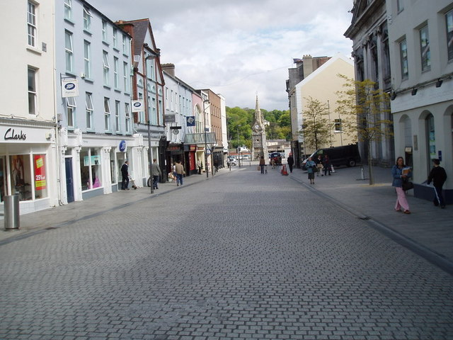 Waterford Facing The Clock Tower