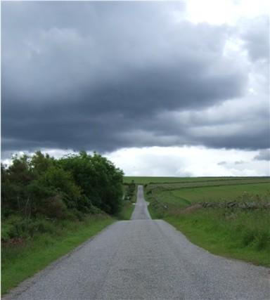 Bethlin to Midmar Kirk road