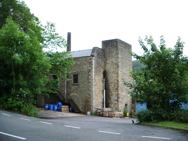 View of the Blowing Tower at Victoria Mill, Sabden