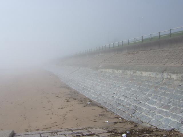 Aberdeen beach wall