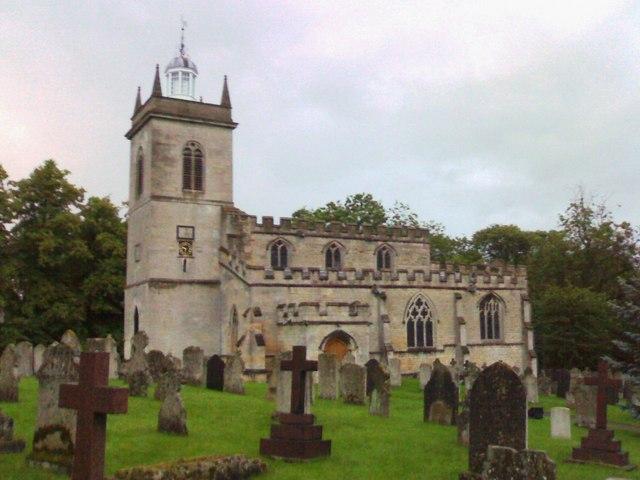 The Parish Church of St. Mary the Virgin, Weldon with Deene