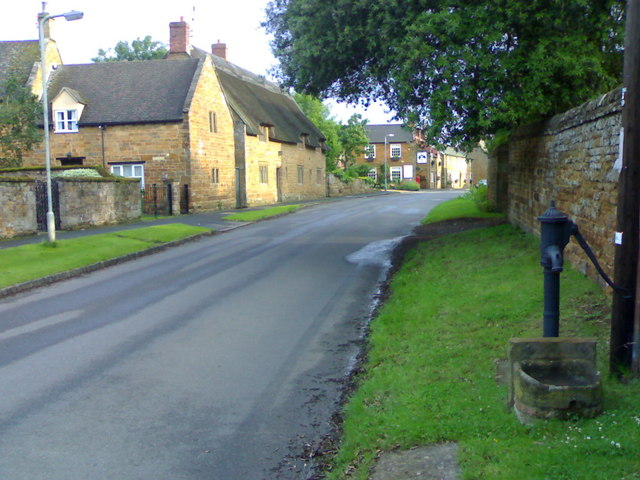 Main Street, Lyddington.