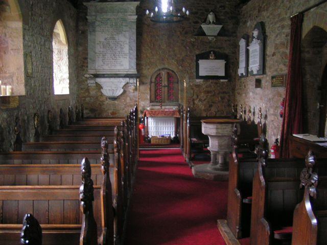 Inside St Pierre Church
