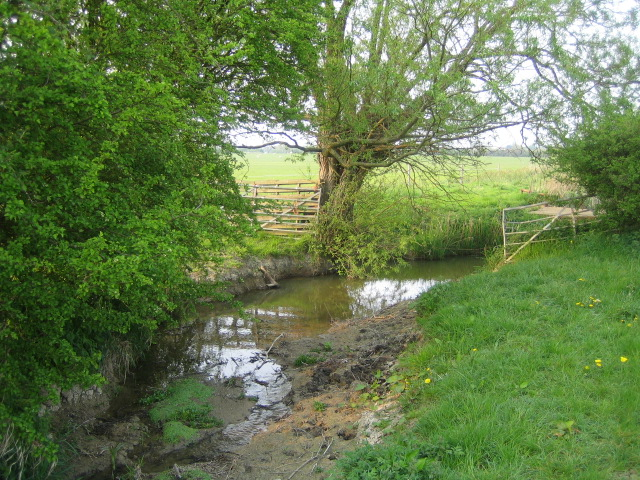 River Ray near Prune Farm Cottages