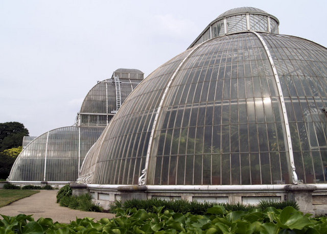 End view of Palm House Kew.