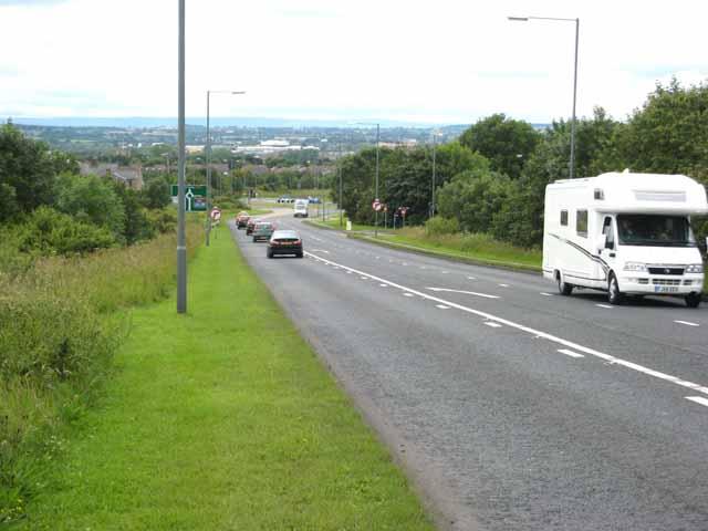 A688 near Coundongate